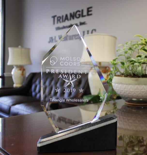 Molson Coors Presidents Award