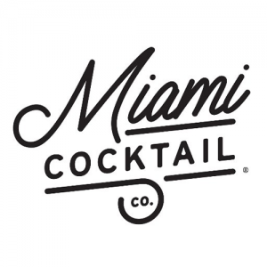 Miami cocktail logo