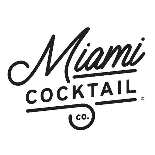 Miami cocktail logo