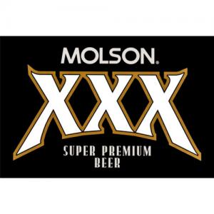 Molson XXX logo